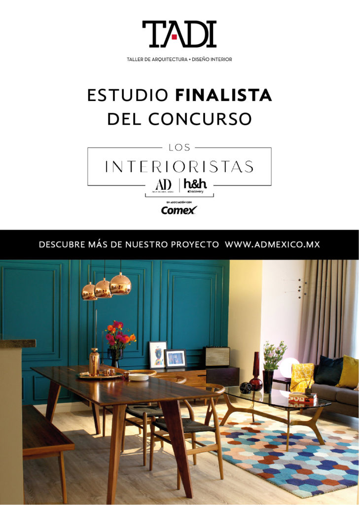 Finalistas en consurso Los interioristas de Home and Health